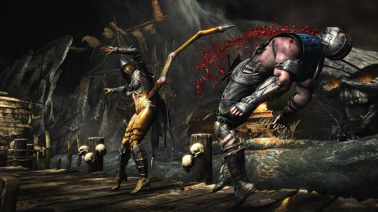 Descargar Meu Novo Android – Mortal kombat x para android – Rodando no moto g – Download apk + data para Celular  #Android
