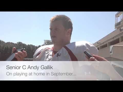 Andy Gallik Interview 8/26/2014 video.