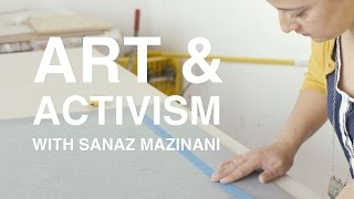 Click for more: http://ww2.kqed.org/artschool/2015/06/30/art-activism-with-sanaz-mazinani/ Sanaz Mazinani is an artist with a background in political activis...