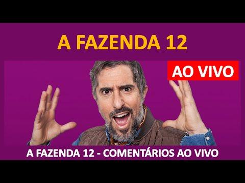 """A FAZENDA 2020: Últimas Notícias """"A Fazenda 12"""" + Comentários + Resumo - ADAUTO AO VIVO - 14/10/2020"""