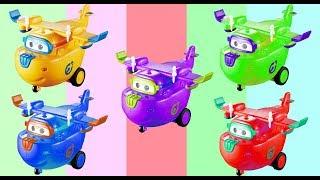 Video [출동 슈퍼윙스/Superwings] 제 1화 | Learn Colors | Learning For Kids - Супер Крылья | Джетт и его друзья MP3, 3GP, MP4, WEBM, AVI, FLV Maret 2018