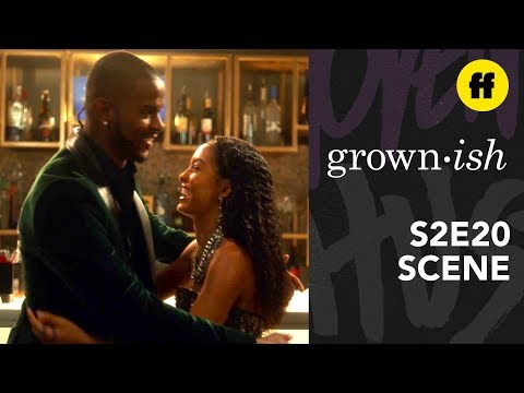 grown-ish Season 2, Episode 20 | Aaron & Zoey Have A Moment | Freeform