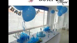 Como decorar el baby shower - FOTOS con el PASO A PASO