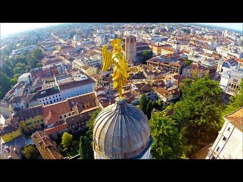 un drone sul friuli venezia giulia, il video che incanta il web