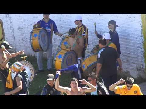 Video - Rosario Central - Los Guerreros - La Gente Canalla En Casanova Frente Almirante (2012 - 2013) - Los Guerreros - Rosario Central - Argentina