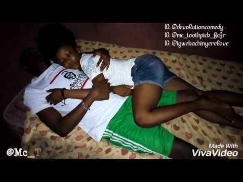 FUNNY SKIT😂😂😂😂😂😂😂 HOW GUYS SLEEP WHEN BAE ISN'T AROUND