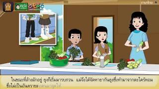 สื่อการเรียนการสอน การแสดงความคิดเห็นเรื่อง สารพิษในชีวิตประจำวัน ป.4 ภาษาไทย