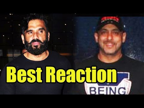 Suniel Shetty Has Best Reaction On Salman Khan's '