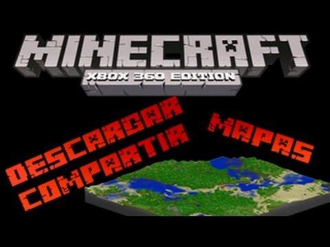 MineCraft Xbox360 - Tutorial Descargar y Compartir Mapas