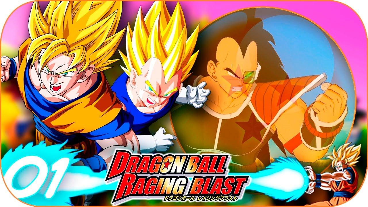 Ver Dragon Ball Raging Blast | Capítulo 1 | LA LLEGADA DEL SAIYAN RADITZ en Español Online