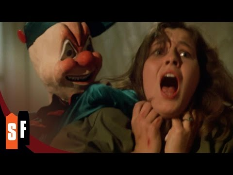 Ghosthouse (1/1) Creepy Clown Doll Attacks (1988) HD