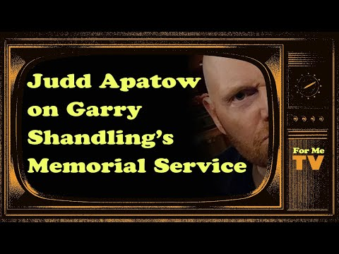 Bill Burr - FMTV | Judd Apatow on Garry Shandling's Memorial Service