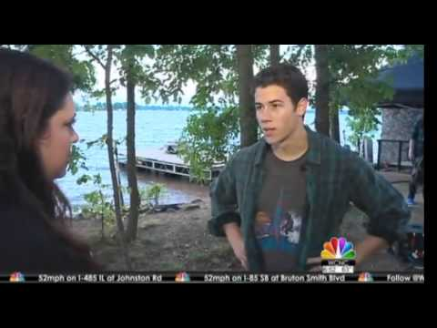 Exclusive NBC | Nick Jonas discusses steamy role in movie shot around Charlotte