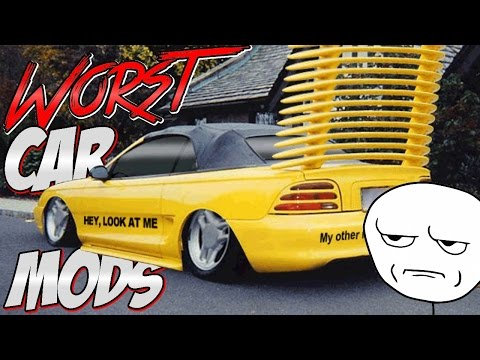 Top 6 Worst Car Mods!