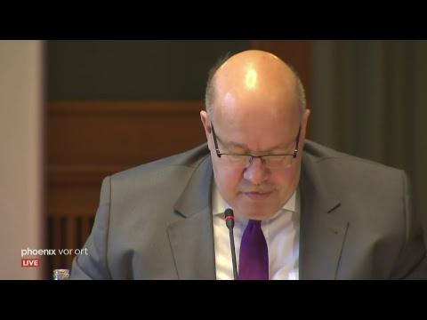 Pressekonferenz mit Peter Altmaier (CDU) zur Vorstell ...
