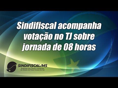 Sindifiscal acompanha votação no TJ sobre jornada de 08 horas