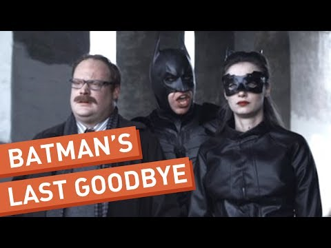 his - Batman prepares to make the ultimate sacrifice. Isn't anyone going to stop him?! See more http://www.collegehumor.com LIKE us on: http://www.facebook.com/col...