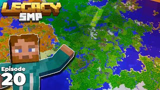 Mapping the ENTIRE Legacy SMP Server in Minecraft 1.15 Survival