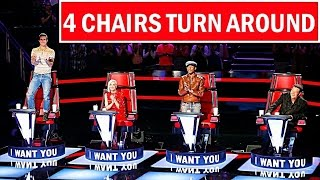 Video The Voice USA Best ALL 4 CHAIRS TURN AROUND (Blind Auditions) Best of The Voice MP3, 3GP, MP4, WEBM, AVI, FLV Maret 2019