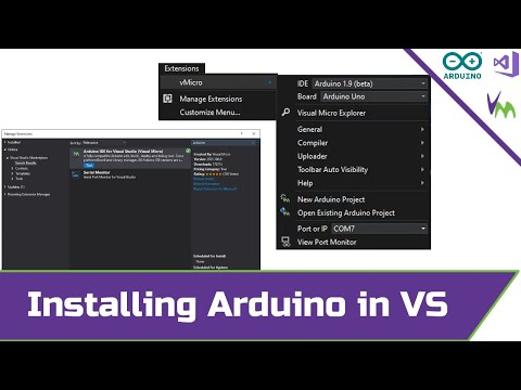 Installing Visual Micro into Visual Studio (with Arduino)