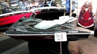 8. 2013 Yamaha Wave Runner VX Deluxe Jet Ski - Walkaround - 2013 Montreal Boat Show