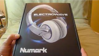 NEW! Numark Electrowave headphones unboxing