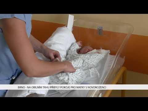 TV Brno 1: 30.1.2017 Na Obilním trhu přibyly pokoje pro matky s novorozenci.