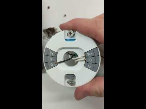 Nest E Thermostat and Reznor heater