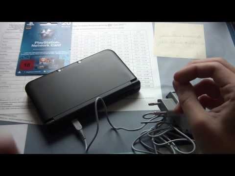 Unboxing Nintendo 3DS XL Netzteil