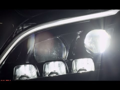 Mercedes-Benz Multibeam LED headlights