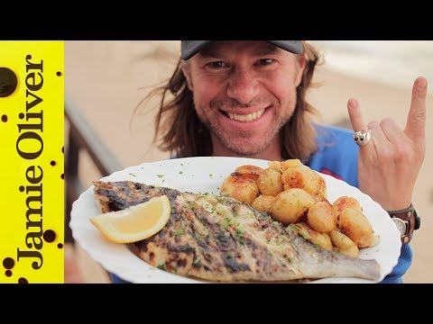 DJ - Holy Smoke Food Tubers DJ BBQ's got a fish-tastic recipe guaranteed to get your gills flapping. Whole Sea Bream grilled to perfection over an open flame, basted with a garlic and lemon butter...