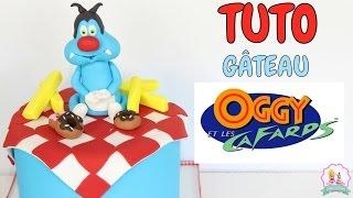 Video ♡• GATEAU PATE A SUCRE OGGY ET LES CAFARDS - CAKE DESIGN •♡ MP3, 3GP, MP4, WEBM, AVI, FLV Agustus 2017