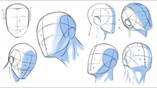 Video How to Draw Heads - Dividing it Into Thirds MP3, 3GP, MP4, WEBM, AVI, FLV Juli 2019