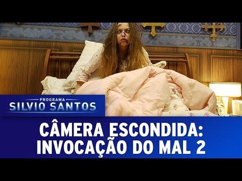 """Pegadinha de Silvio Santos promove filme """"Invocação do Mal 2"""""""