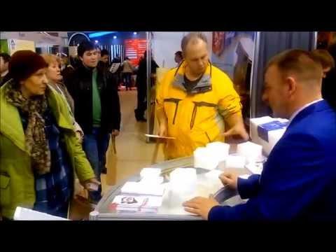 """Холлофайбер на строительной выставке """"Деревянное домостроение-2015"""", ВДНХ"""