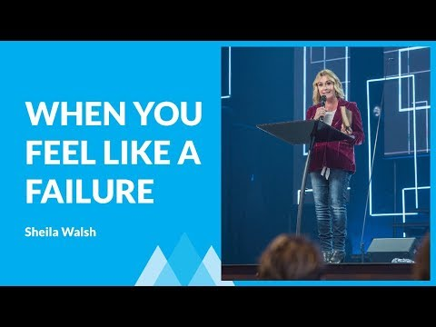 What To Do When Your Setback Feels Like A Failure with Sheila Walsh