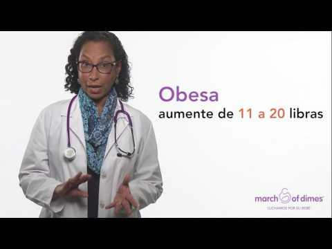 Tener sobrepeso durante el embarazo