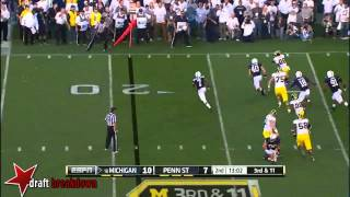 DaQuan Jones vs Michigan (2013)