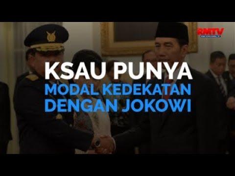 KSAU Punya Modal Kedekatan Dengan Jokowi