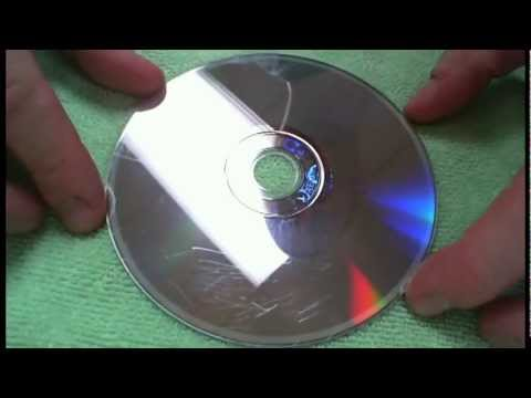 how to clean scratches from cds