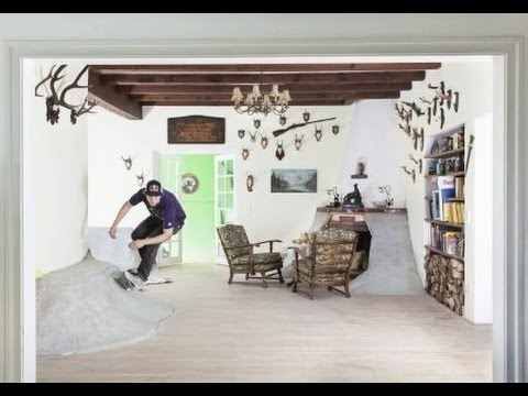 0 Crazy Skater Turn His House Into A Skate Park