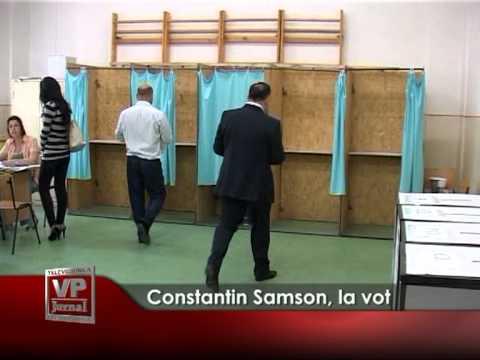 Constantin Samson, la vot