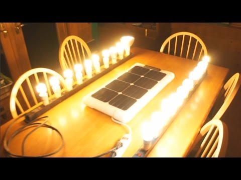 SOLN1 25 – Easy to Build DIY Portable Energy Generator Solar