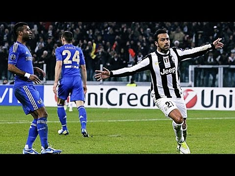 Memorable Match ► Juventus 3 vs 0 Chelsea - 21 Nov 2012 | English Commentary