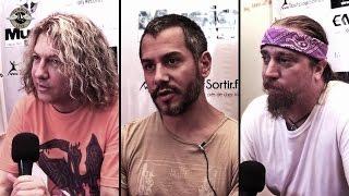 Death DTA Tours - ITW Eric Greif, Paul Masvidal & Steve DiGiorgio - Hellfest 2014