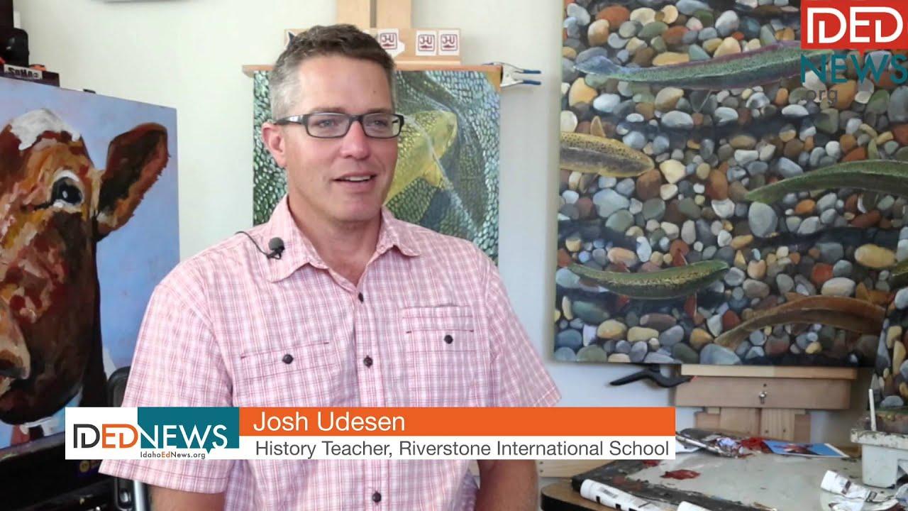 Boise teacher turns into summer artist