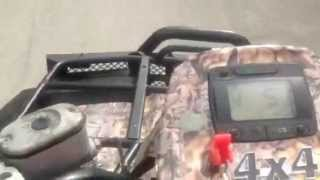 8. Arctic Cat 650 v-twin running and test drive