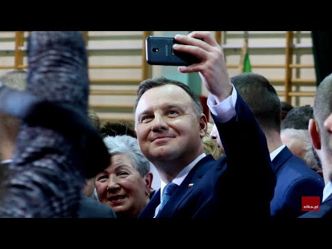 Wideo1: Prezydent Andrzej Duda spotkał się z mieszkańcami Góry