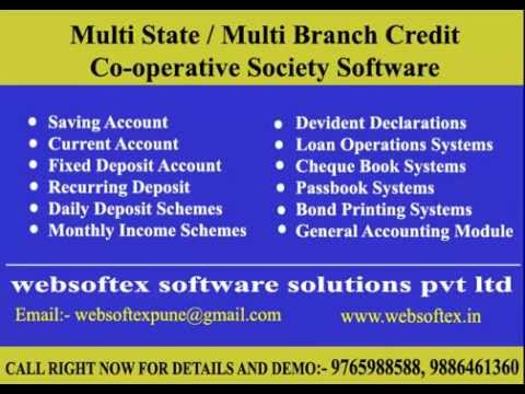 Multistate Credit Cooperative Society Software