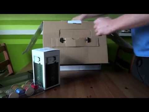 Nespresso Citiz coffee machine unboxing